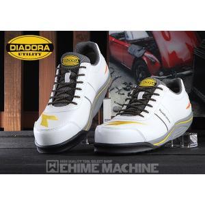 DIADORA ディアドラ 安全靴 [ROADRUNNER ロードランナー] スニーカー安全靴  ホワイト RR-11 ehimemachine