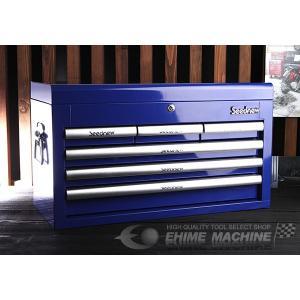 SEEDNEW シーズニュー 6引出しツールチェスト(ブルー) S-R906B|ehimemachine