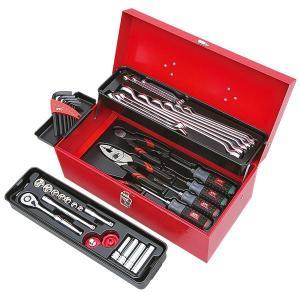 コンパクトながら必要工具をしっかり収納できる「SK120-M」を採用。 プロが選ぶ工具を暮らしの中へ...