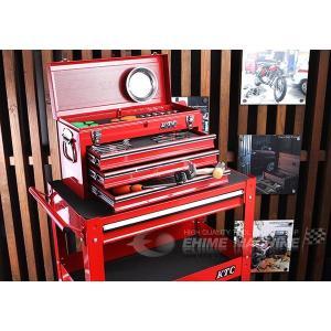 在庫有 KTC 工具セット 9.5sq. 45点ツールセット レッド (豪華特典付) SK34618XX|ehimemachine