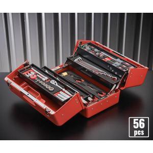 在庫少 KTC 9.5sq. 56点工具セット SK35619P(豪華特典付)SK330P-M採用 スタンダードツールセット|ehimemachine
