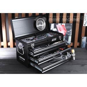 在庫有 KTC 工具セット 9.5sq./インチ 54点ツールセット ブラック (豪華特典付) SK35418BXBK|ehimemachine