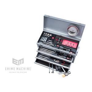 在庫少 KTC 9.5sq. 57点トルクル採用工具セット SK35719XSTQ(豪華特典付)シルバー  トルクル採用ツールセット|ehimemachine