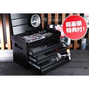 在庫有 KTC 工具セット 9.5sq. 66点ツールセット ブラック (豪華特典付) SK36618EGBK|ehimemachine