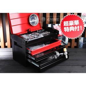 在庫有 KTC 工具セット 9.5sq. 66点ツールセット レッド×ブラック (豪華特典付) SK36618ER|ehimemachine