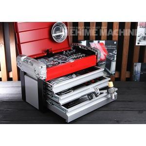 在庫有 KTC 工具セット 9.5sq. 66点ツールセット シルバー×レッド×ブラック (豪華特典付) SK36618EZ|ehimemachine