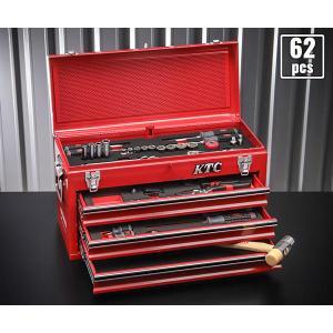 在庫有 KTC 工具セット 9.5sq./65点セット (特典付) SK3660GXEM|ehimemachine