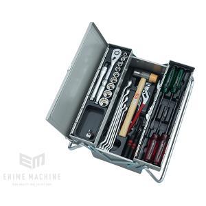 在庫少 KTC 12.7sq.41点工具セット SK44319M(豪華特典付)シルバー  一般機械整備用ツールセット|ehimemachine