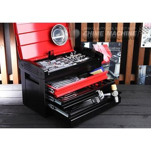 在庫有 KTC 工具セット 12.7sq. 59点ツールセット レッド×ブラック (豪華特典付) SK45918ER ehimemachine