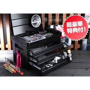在庫有 KTC 工具セット 6.3sq./9.5sq. 93点ツールセット ブラック (豪華特典付) SK59318EGBK|ehimemachine