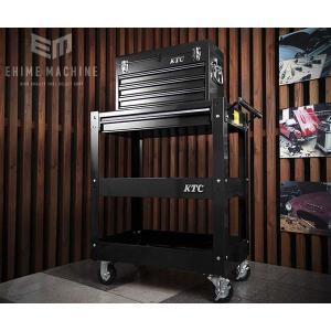【9月の特価品】 KTC ツールチェスト+ツールワゴンセット(ブラック) SKX0213BK-SET