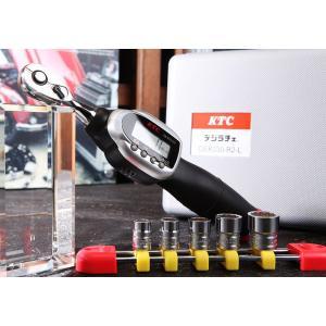 KTC 6.3sq.ソケットレンチセット デジラチェモデル TB206WG1|ehimemachine