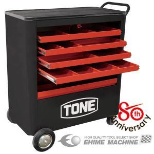 [メーカー直送品] TONE TC8001R シャッター付ツールキャビン|ehimemachine