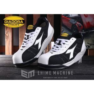 [新商品] DIADORA WATERFOWL ウォーターフォール ホワイト×ホワイト×ブラック WF-112 安全靴 スニーカー ディアドラ ehimemachine