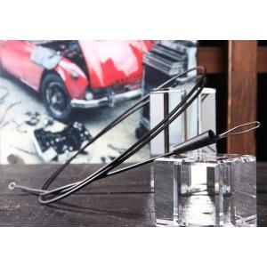 自動車板金作業、整備作業、カーナビ取り付けの便利工具!  奥まった狭い場所に配線を通したい時に使用す...