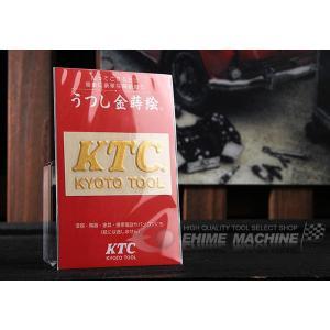 KTCグッズ うつし金蒔絵 KTCロゴシール YG-133|ehimemachine