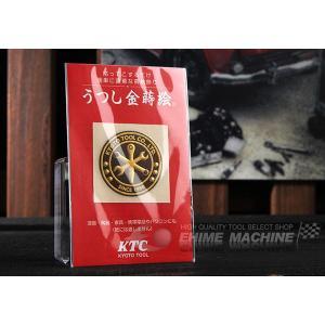KTCグッズ うつし金蒔絵 KTCエンブレムシール YG-134|ehimemachine
