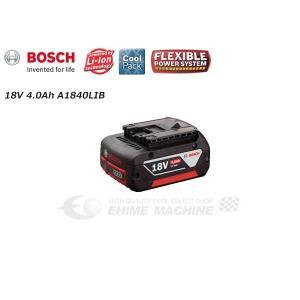 BOSCH ボッシュ 18V リチウムイオンバッテリー 4.0Ah A1840LIB