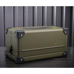 【KTC】 EK-10AODEM 両開きメタルケース オリーブドラブ EHIME MACHINEオリジナルカラー 工具箱 ehimemachineyshop