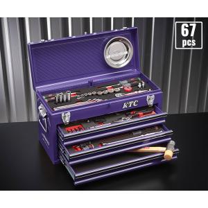 在庫有 KTC 9.5sq. 69点工具セット SK36920XPU(豪華特典付)パープル スタンダードツールセット SKX0213PU 採用モデル ehimemachineyshop