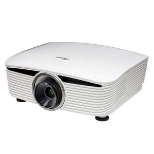 ポイント10倍【中古・1年保証(P62)】Optoma フルHD・3D対応 DLPプロジェクター EH503(短焦点レンズBX-DL080セット) 高輝度5200lm|ehome