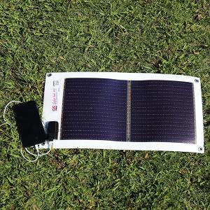 日本製 5.4W どこでも発電 OS オーエス ソーラーシートチャージャー GN-050|ehome|04