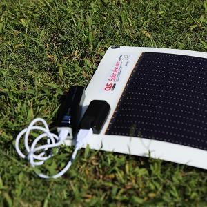 日本製 5.4W どこでも発電 OS オーエス ソーラーシートチャージャー GN-050|ehome|05