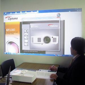 短焦点 フルHD 2800lm DLPプロジェクター Optoma オプトマ GT1080(1080p/3D対応/25000:1/HDMI/リモコン)|ehome|06
