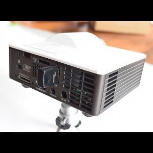 超小型 短焦点 LED モバイルプロジェクター Optoma オプトマ ML1050ST+S1J(WiFi/WXGA/長寿命/メモリー/HDMI/スピーカー)|ehome|08