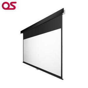 90インチ 手動 スクリーン フルHD対応(ピュアマット204) OS オーエス MP-090HM-K1/W1-WF204(黒/白パネル)|ehome