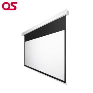 100インチ 手動 スクリーン フルHD対応(ピュアマット204) OS オーエス MP-100HM-K1/W1-WF204(黒/白パネル)|ehome