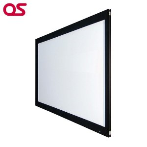 120インチ 張込 スクリーン フルHD対応(ピュアマット204) OS オーエス PX-120H-WF204(フロッキー枠)|ehome