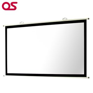 【壁掛け】 80インチ 掛図 スクリーン (マスク付き) プロジェクタースクリーン OS オーエス SMH-080HM|ehome
