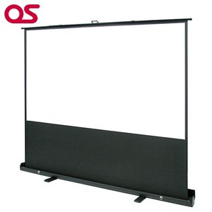 OS 92インチ 自立型 プロジェクタースクリーン (マスク付) /パンタグラフ方式 オーエス SMS-092HM-P1|ehome