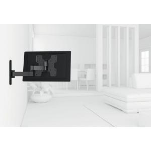 Vogel's ボーゲルズ 小型・中型 19〜40型 テレビ取付金具 WALL2145(壁付・ダブルアーム 首振り180°回転)|ehome