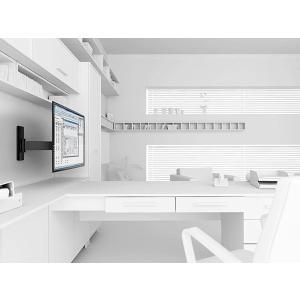 Vogel's ボーゲルズ 中型・大型 40〜65型 テレビ取付金具 WALL2325(壁付・シングルアーム 首振り180°回転)|ehome