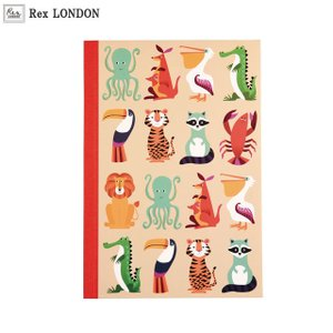 可愛い ノート(A5)/クリーチャーズ(CREATURES) 鮮やかな色使いとたくさんのキャラクター ロンドン生まれ Rex LONDON|ehon-netcom