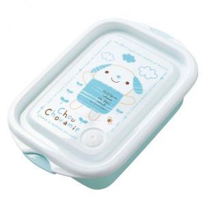 ランチボックス・シュシュエル(Blue) お弁当箱 キャラクター 男の子 誕生日 お祝い 記念日 ぬいぐるみ キャラクター ehon-netcom