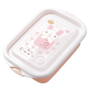 ランチボックス・シュシュフル(Pink) お弁当箱 キャラクター 女の子 誕生日 お祝い 記念日 ぬいぐるみ キャラクター ehon-netcom