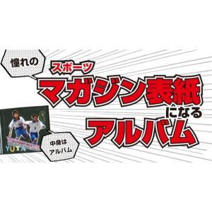 写真 アルバム テニス オリジナル表紙のマガジンアルバム「ソフトテニスマガジン」フリー台紙タイプ|ehon-netcom|05