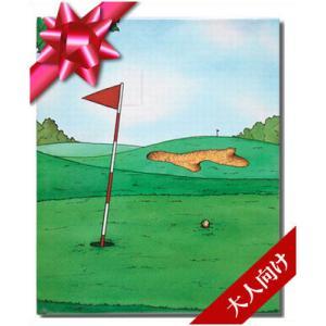 ゴルフの本 大人向けの絵本/スタンダード 痛快なゴルフプレー 世界でたった一冊のオーダーメイド絵本|ehon-netcom