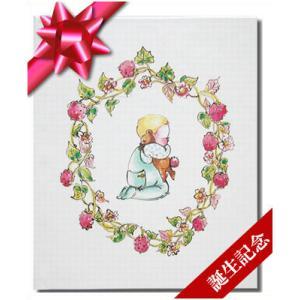 赤ちゃん誕生/ジャケットアルバム付き(絵本ギフトBOX附属) 出産祝い 誕生記念 世界でたった一冊のオーダーメイド絵本|ehon-netcom