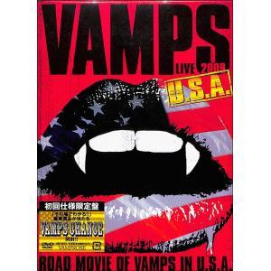 VAMPS LIVE2009U.S.A. DVD ehon
