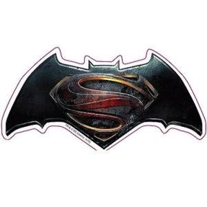 『バットマン vs スーパーマン ジャスティスの誕生』 ロゴ ダイカットステッカー eigamono