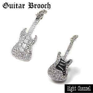 ブローチ ラペルピンブローチ ギター ストラト ムスタング ...