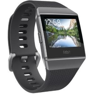 Fitbit FB503GYBK-CJK スマートウォッチ iONIC チャコール/スモークグレー ...