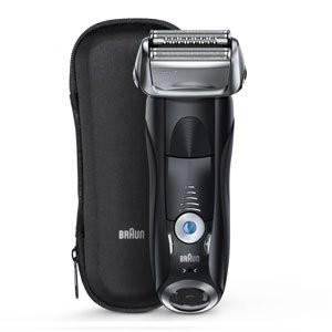 ブラウンシリーズ7は4カットシステム、人工知能・音波テクノロジーを搭載した電気シェーバー。敏感肌モー...