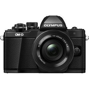 オリンパス OLYMPUS OM-D E-M10 Mark II EZレンズキット ボディ ブラック+M.ZUIKO DIGITAL ED 14-42mm F3.5-5.6 EZ ブラック 新品 送料無料|eightloop