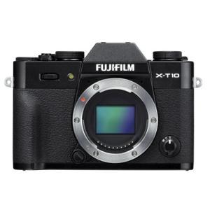 富士フイルム FUJIFILM X-T10 ボディ プレミアムミラーレスカメラ ブラック 新品 送料無料|eightloop