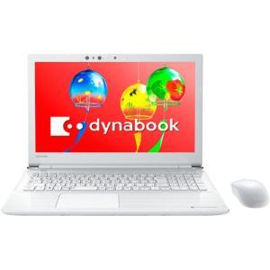 東芝 TOSHIBA PT55GWP-BEA2 ノートパソコン dynabook Tシリーズ 15.6型/Core i3 8130U/メモリ 4GB/HDD 1TB/Windows10/Office リュクスホワイト 新品 送料無料 eightloop